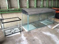3ft Tank with lid & 1ft Tank