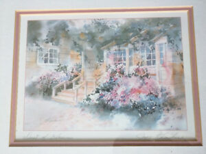 """""""Dust of Blossoms"""" signed Watercolor by Joyce Kamikura Watercolo"""