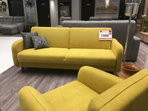 SOFABED & ARMCHAIR SET ALVA - MADE IN EUROPE