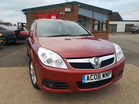 2008 Vauxhall/Opel Vectra 1.8i VVT ( 140ps ) 2008MY Design MANUAL NEW SERVICE
