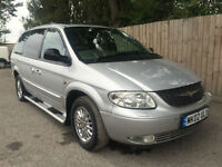 2002 02 Chrysler Grand Voyager 3.3 auto Limited 85k 7 seats 28.5 MPG May p/x