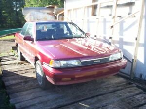 1989 Toyota Camry with 120,000km no spark