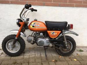 1974 HONDA Z50 MINI BIKE