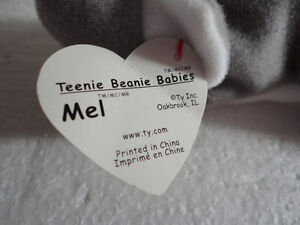 NWT TY Mel plush toy beanie baby collectible London Ontario image 3