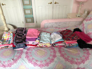 Huge Lot of Name Brand Girls Clothes