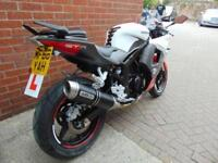 2016 (66) HYOSUNG GT125RC - ARROW EXHAUST ALARM AND TAILTIDT
