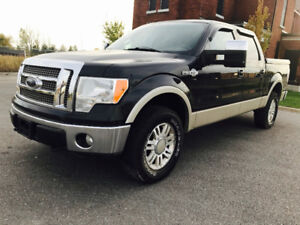 2010 FORD F-150 KING RANCH TOP OF THE LINE 4X4,LEATHER,ROOF,NAVI