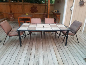 Large outdoor patio set, Great shape