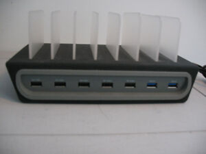 NAZTECH  7-PORT USB CHARGE / DOCKING STATION