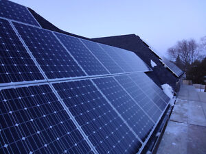 Solar panels microFIT & Net Metering programs London Ontario image 9