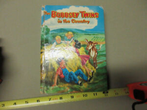 THE BOBBSEY TWINS IN THE COUNTRYVINTAGE BOOK