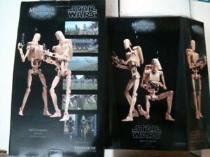 Sideshow Star Wars 1/6 scale Battle Droids Infantry
