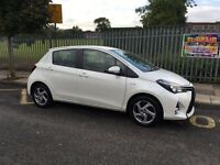 Toyota Yaris Icon Hybrid 2015 Fully Loaded