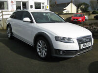 2010/60 Audi A4 Allroad 2.0 TDI CR Quattro 4wd Estate with FULL SERVICE HISTORY.