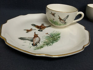 4 Game Bird Sandwich Plate & Cup Combo London Ontario image 10