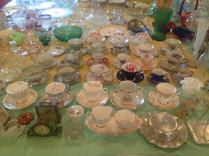 Antique Cups & Saucers