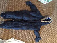 Pram/Snow suit, size 3-6 months.