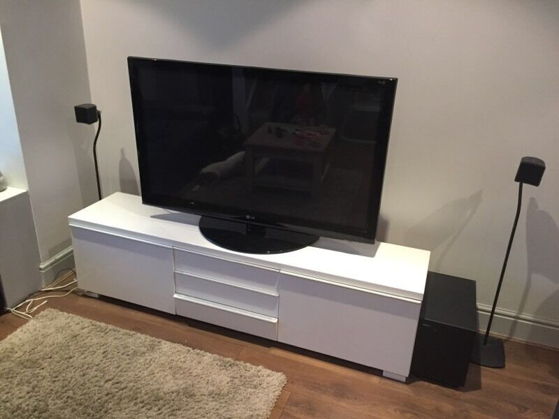 ikea besta burs tv unit white in twickenham london gumtree. Black Bedroom Furniture Sets. Home Design Ideas