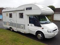 Rimor SUPERBRIG 688 TC, 6 Berth, 6 Seatbelts, Rear Garage, EVERYTHING INCLUDED!