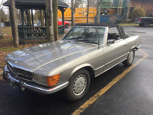 mercedes 350 sl 1972 convertible