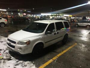 Chevrolet Uplander Minivan, Van - For Construction