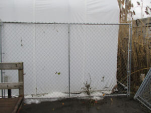 6' High X 10' Long Construction Fence