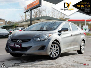 2012 HYUNDAI ELANTRA LOADED | CERTIFIED| WARRANTY| CARPROOF |