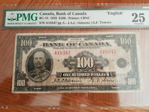 PAPER MONEY BANK of CANADA for sale