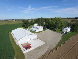 Broiler Farm; Beautiful 77 Acres in Wellesley! No Quota Required