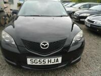 2005 MAZDA 3 1.6 TS trade in to clear :LOW MILEAGE MOT JANUARY 2017