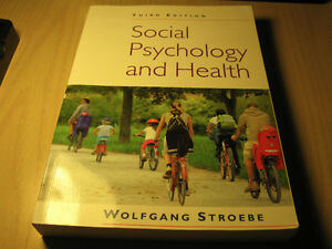 SOCIAL PSYCHOLOGY & HEALTH 3RD EDITION BY WOLFGANG STROEBE