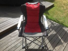 4 Quest Superlite Red Commander Chairs