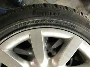 255/45R18 Pirelli SottoZero Winter 240 + Mags Mercedes S430 West Island Greater Montréal image 3