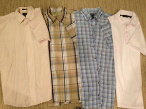Short sleeved men's shirts