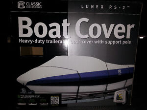 """BRAND NEW 14FT-16FT UP TO 90"""" BEAM / WIDTH HEAVY DUTY BOAT COVER"""