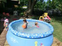 "Kids 8' x 26"" Inflatable Pool"
