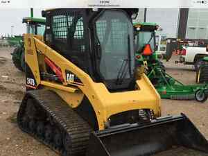 CAT 247B TRACK SKID STEER 62 HP 2005 -2800 HOURS