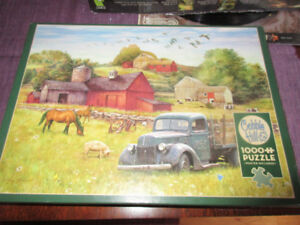 Cobble HIll 1000 Pieces - Summer afternnon on the farm