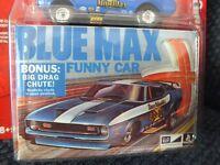 1971 MUSTANG BLUE MAX FUNNY CAR JOHNNY LIGHTNING