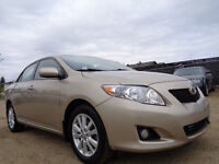 2009 Toyota Corolla LE SPORT PKG-ONE OWNER AMAZING SHAPE IN/OUT