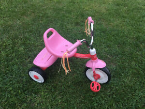Girl's tricycle