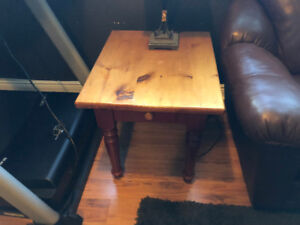 Moving Must Sell.  Coffee table and two end tables