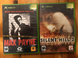 Selling Silent Hill 2 and Max Payne for Xbox