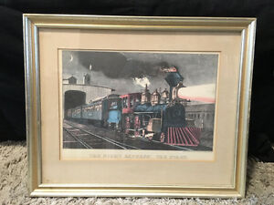 TRAIN Items - Prints and Book