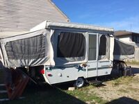 WELL MAINTAINED POP UP CAMP TRAILER