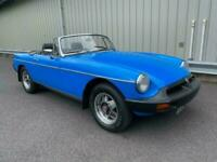 1978 MG MGB B ROADSTER WITH OVERDRIVE CLASSIC