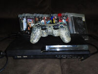 PS3 for sale comes with 15 games and 1 remote!