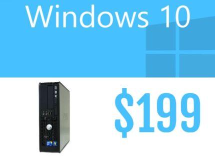 Desktops Windows 10 $199 Melbourne CBD Melbourne City Preview