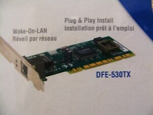 New D-Link DFE-530TX 10/100 Network Card