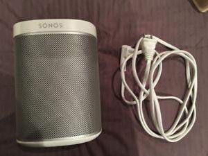Haut-parleur sans fil SONOS PLAY 1 wireless speaker - blanc